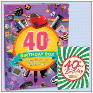 40th birthday box