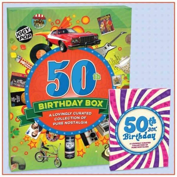 50th birthday box