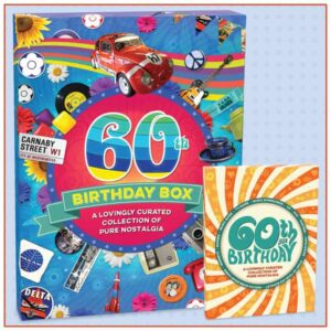 60th birthday box