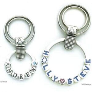 Bagnara Metal Keyring – Personalised