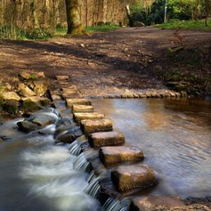 SH92 Sheffield - Porter Brook Stepping Stones
