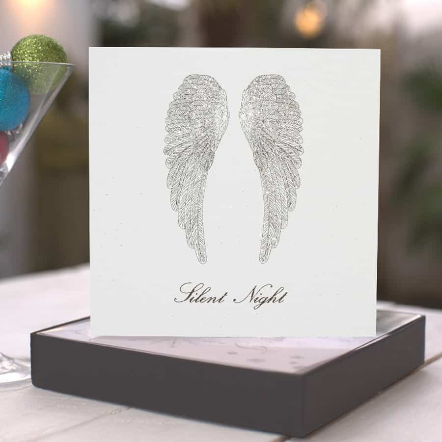 Gifts online UK | Five Dollar Shake Christmas Box of Cards - Angel ...